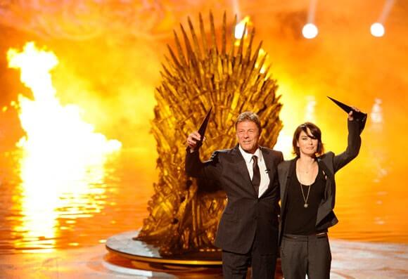 Sean Bean and Lena Headey from Game of Thrones at the SCREAM Awards 2011