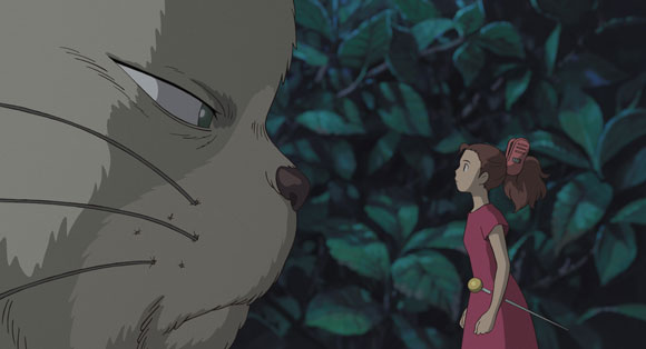 A scene from The Secret World of Arrietty
