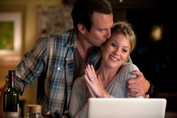 Will Arnett and Christina Applegate in Up All Night