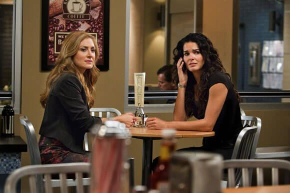 Sasha Alexander and Angie Harmon in 'Rizzoli & Isles'
