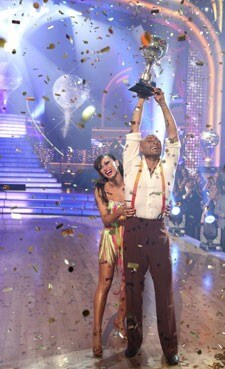 Karina Smirnoff and J.R. Martinez on 'Dancing With the Stars'