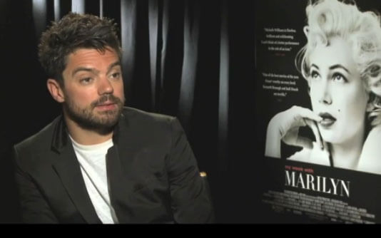 Dominic Cooper My Week with Marilyn Interview
