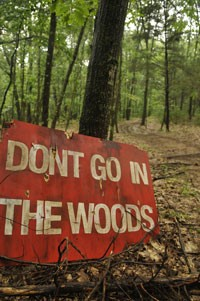 """Don't Go in the Woods"" distributed by Tribeca Film. Photo Credit- Nathan West."