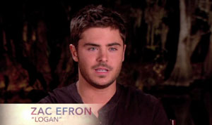 The Lucky One Featurette with Zac Efron