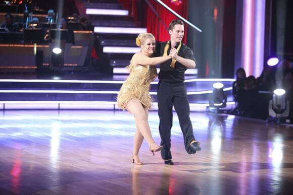 Nancy Grace and Tristan MacManus on 'Dancing With the Stars'