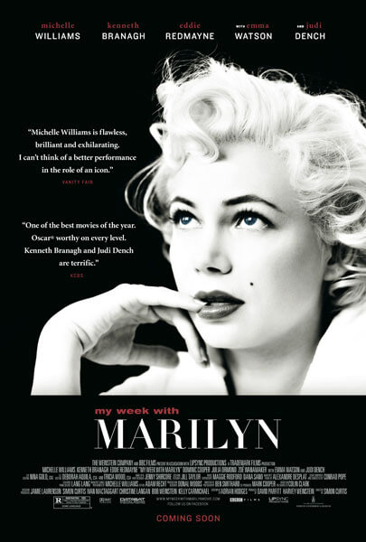 Poster for My Week with Marilyn