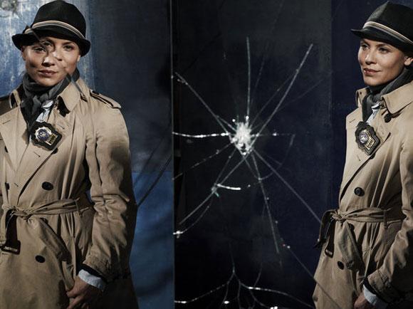 Maria Bello as Det. Jane Timoney in 'Prime Suspect'