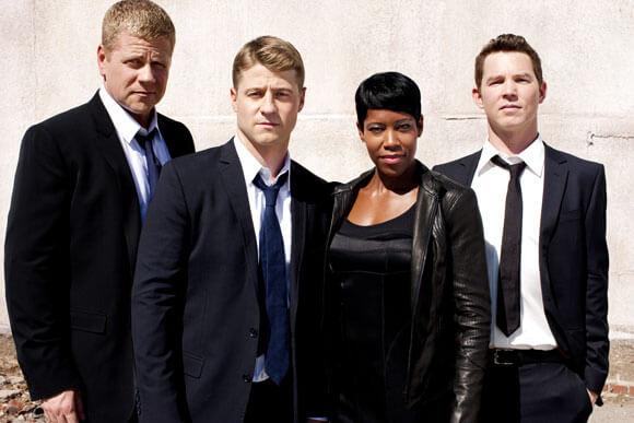 Michael Cudlitz, Ben McKenzie, Regina King and Shawn Hatosy star in TNT's 'Southland'