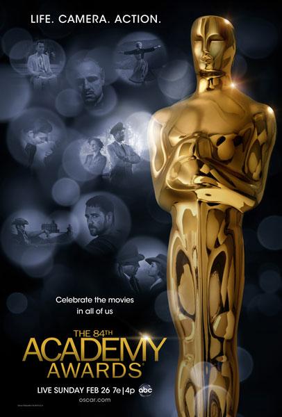 84 Academy Awards Poster