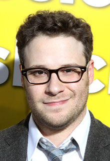 Seth Rogen at the Paul Premiere