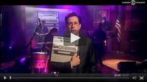 Black Keys Perform on the Colbert Report