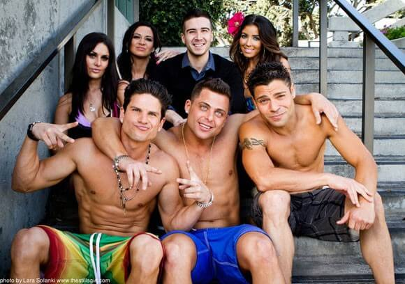 The cast of 'Jersey Shore Shark Attack'