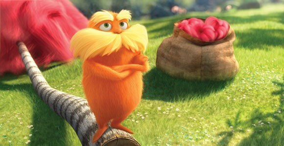 A scene from 'The Lorax'