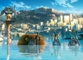 A scene from Madagascar 3: Europe's Most Wanted