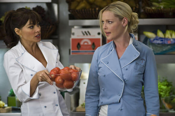 Sofia Vergara and Katherine Heigl in 'New Year's Eve'