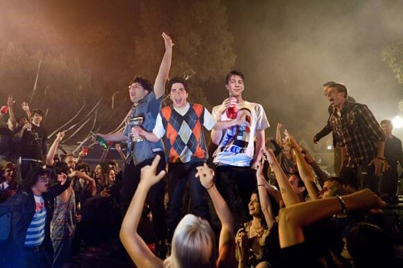 Jonathan Daniel Brown, Oliver Cooper, and Thomas Mann in 'Project X'