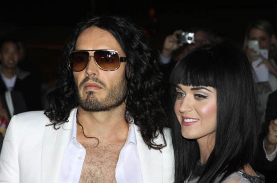 Russell Brand and Katy Perry at the 'Get Him to the Greek' Premiere