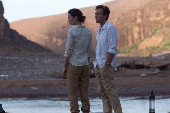 Emily Blunt and Ewan McGregor star in Salmon Fishing in the Yemen