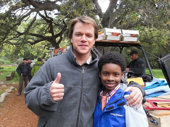 We Bought the Zoo with Matt Damon
