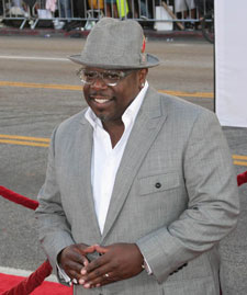 Cedric the Entertainer at the Larry Crowne Premiere