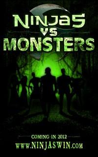 Ninjas vs Monsters Teaser Poster