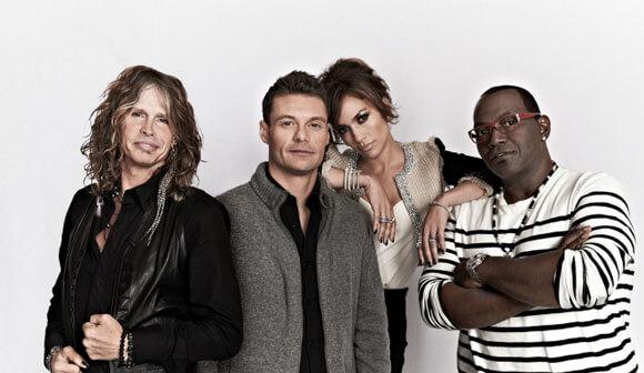 'American Idol's' Steven Tyler, Ryan Seacrest, Jennifer Lopez and Randy Jackson
