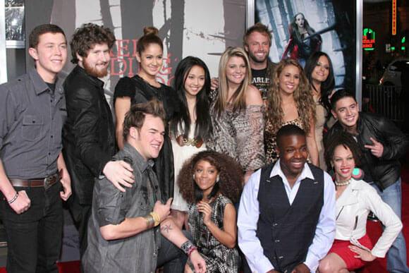 The American Idol Season 10 Finalists