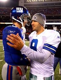 Eli Manning vs Tony Romo