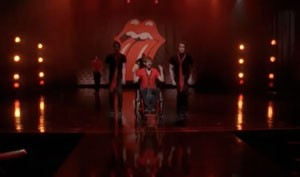 Glee Moves Like Jagger