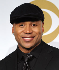 LL Cool J poses in press room during GRAMMY Nominations Concert Live!! at Club Nokia on December 1, 2010 in LA