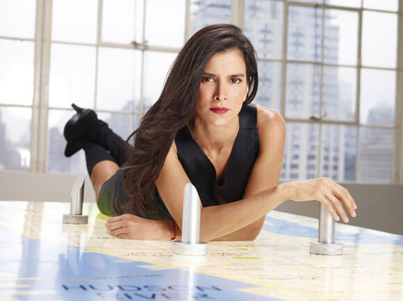 Patricia Velasquez competes in 'The Celebrity Apprentice' Season 12