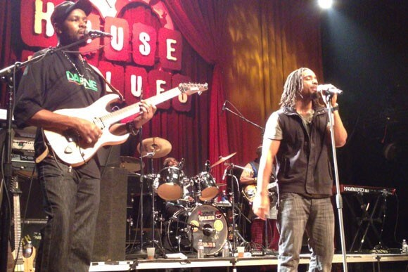 The Wailers perform at the San Diego House of Blues