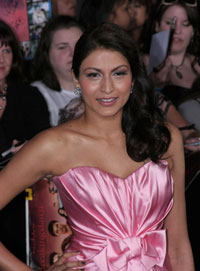 Tinsel Korey at the Breaking Dawn Premiere