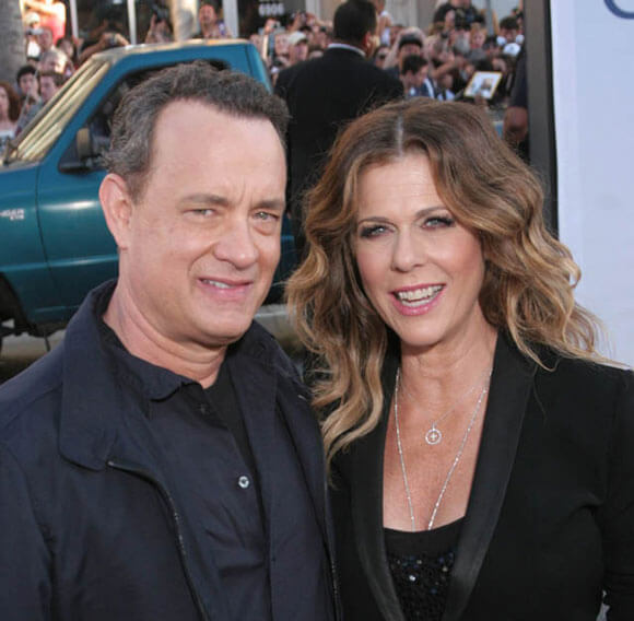 Tom Hanks and Rita Wilson at the Larry Crowne Premiere