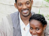 Will Smith and Jada-Pinkett Smith at the Karate Kid Premiere