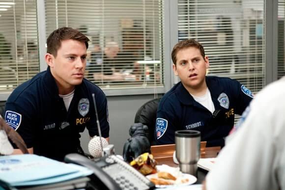 Channing Tatum and Jonah Hill in '21 Jump Street'