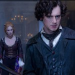 Erin Wasson and Benjamin Walker in a scene from Abraham Lincoln: Vampire Hunter.