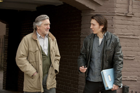 Robert De Niro and Paul Dano in 'Being Flynn'