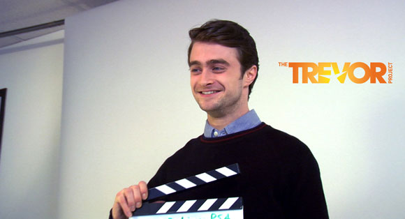 The Trevor Project behind the scenes with Daniel Radcliffe