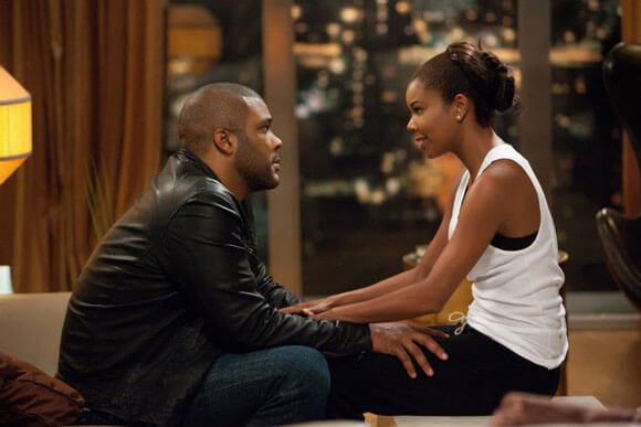 Wesley Deeds (Tyler Perry) and Natalie (Gabrielle Union) in 'Tyler Perry's Good Deeds'