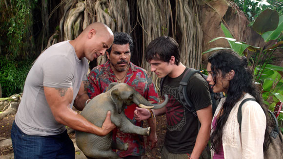 A scene from 'Journey 2: The Mysterious Island'