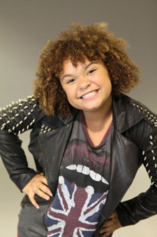 Rachel Crow on 'The X Factor' - Photo Credit: Nino Munoz / FOX
