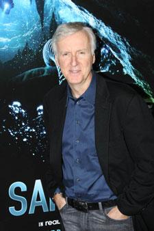 James Cameron at the Sanctum Premiere