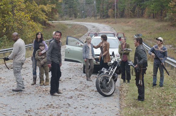 Walking Dead Season 2 Finale Photo