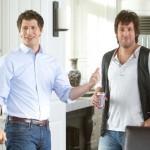 Andy Samberg and Adam Sandler star in 'That's My Boy'