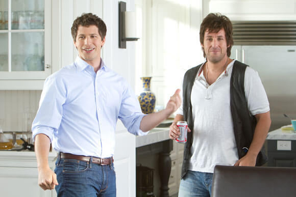 Andy Samberg and Adam Sandler star in 'That's My Boy'