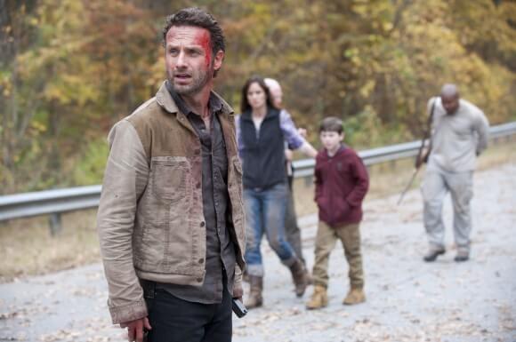 The Cast of The Walking Dead Season 2 Finale