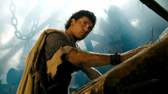 Sam Worthington in a scene from Wrath of the Titans.