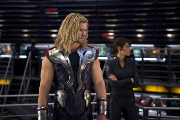 The Avengers Chris Hemsworth Photo