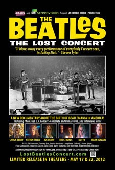 The Beatles The Lost Concert Poster